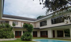 4 Bedroom House Rent in Forbes Park Village Makati City